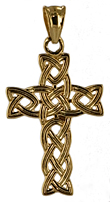 braided celtic cross