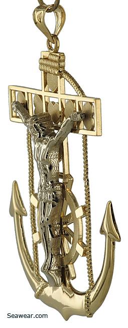 Sailors Anchor Crucifix