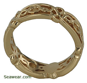 Celtic Queen ring setting