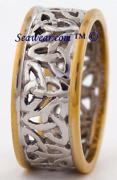 Celtic Wedding Ring Band