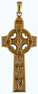 14k Cross of Scriptures