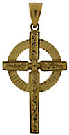 celtic cross with large circle