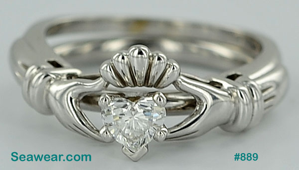 knot gold jewelry rings silver in ireland celtic mens wedding ladies ring handcrafted irish claddagh band bands