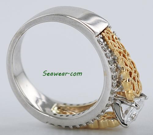 celtic love knot wedding ring set. Black Bedroom Furniture Sets. Home Design Ideas