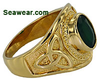 Celtic franternity ring
