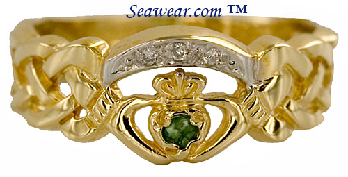 Celtic Claddagh ring