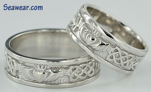 comfort band ltd ring unisex soulmate aoife celtic wedding rings fit