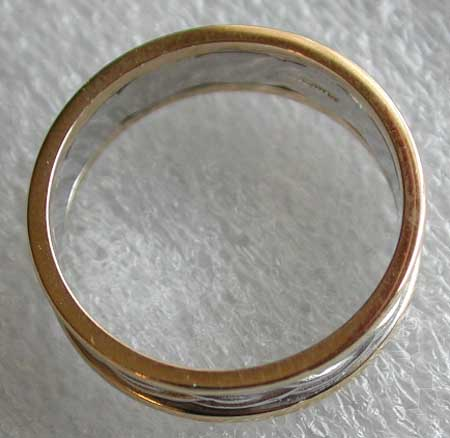 thickness of Celtic knot wedding band