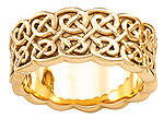 ladies celtic knot band