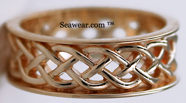 Celtic wedding ring tattoo designs originate fm. real family a major