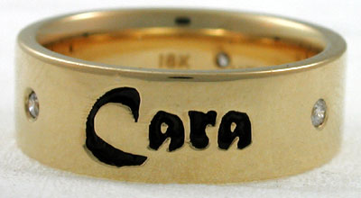 gold mo anam cara wedding band