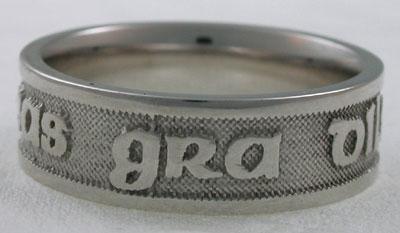 Gaelic Love Loyalty Friendship Ring