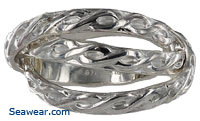 Russian sailor wedding ring