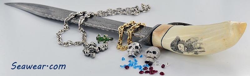 Blackbeard's pirate jewelry treasure found along with his famed cutlass