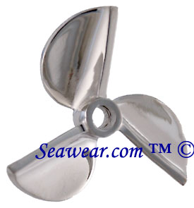 Propeller jewelry 14k white gold chopper propeller pendant mozeypictures Gallery