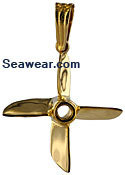 four blade racing cleaver propeller