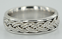 6.5mm woven ring