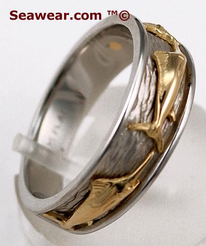 Marlin Wedding Band Ring