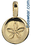 smooth sand dollar jewelry
