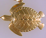 loggerhead sea turtle charm