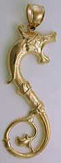 gold sea monster serpent loch ness