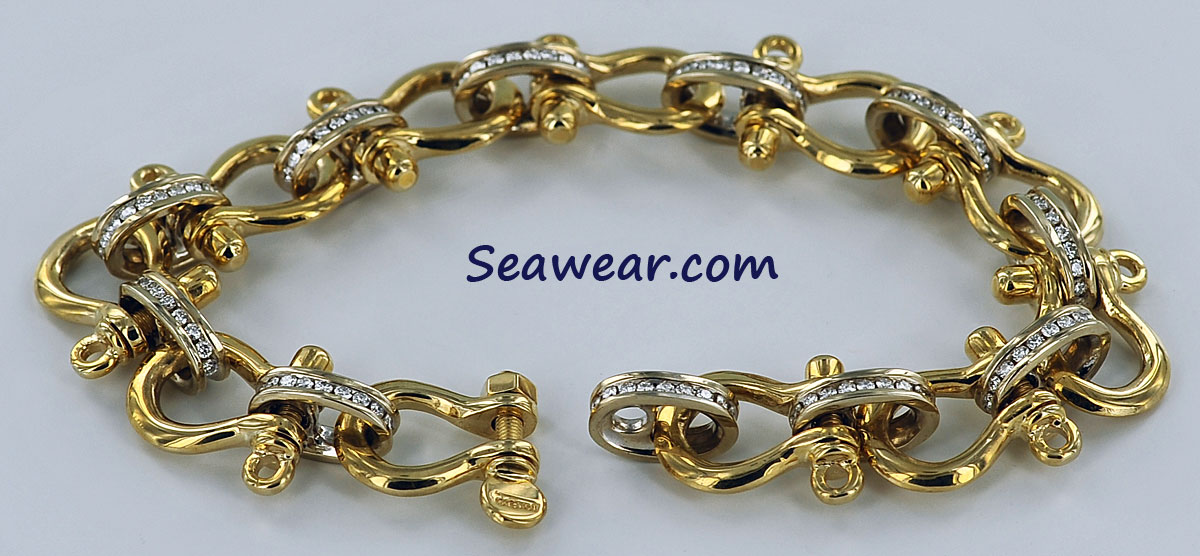 b3fe9cb2dcd0a5 diamond and shackle bracelet