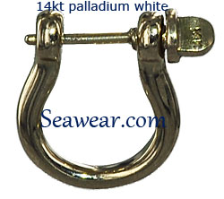 shackle earrings shackle jewelry 429