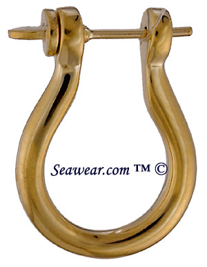 shackle earrings shackle jewelry 4106