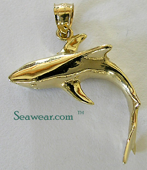 Shark jewelry tiger shark jewelry charm aloadofball Choice Image