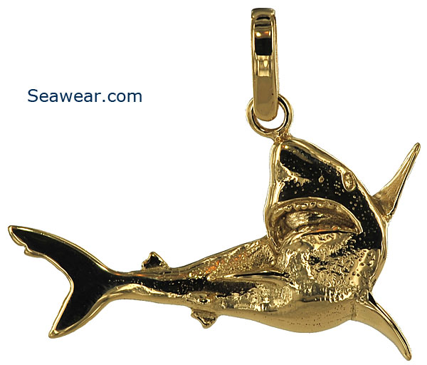 Shark jewelry shark jewelry pendant necklace aloadofball Gallery
