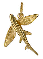 flying fish pendant