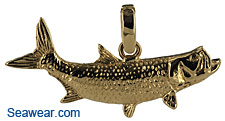 tarpon jewelry necklace pendant