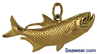 tarpon fish jewelry necklace charm