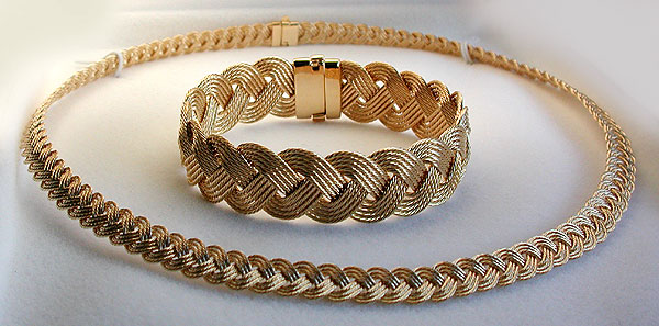 Bracelet And 7mm Necklace
